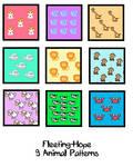Animal Patterns 001 by Fleeting-Hope