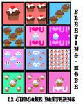 Cupcake Patterns 002