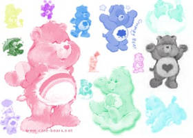carebear brushes by Fleeting-Hope