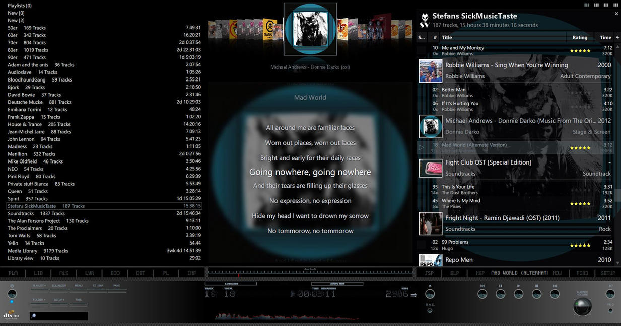 foobar2000 darkone v4.0