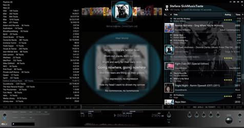 Foobar2000 Screenshot v2 dark