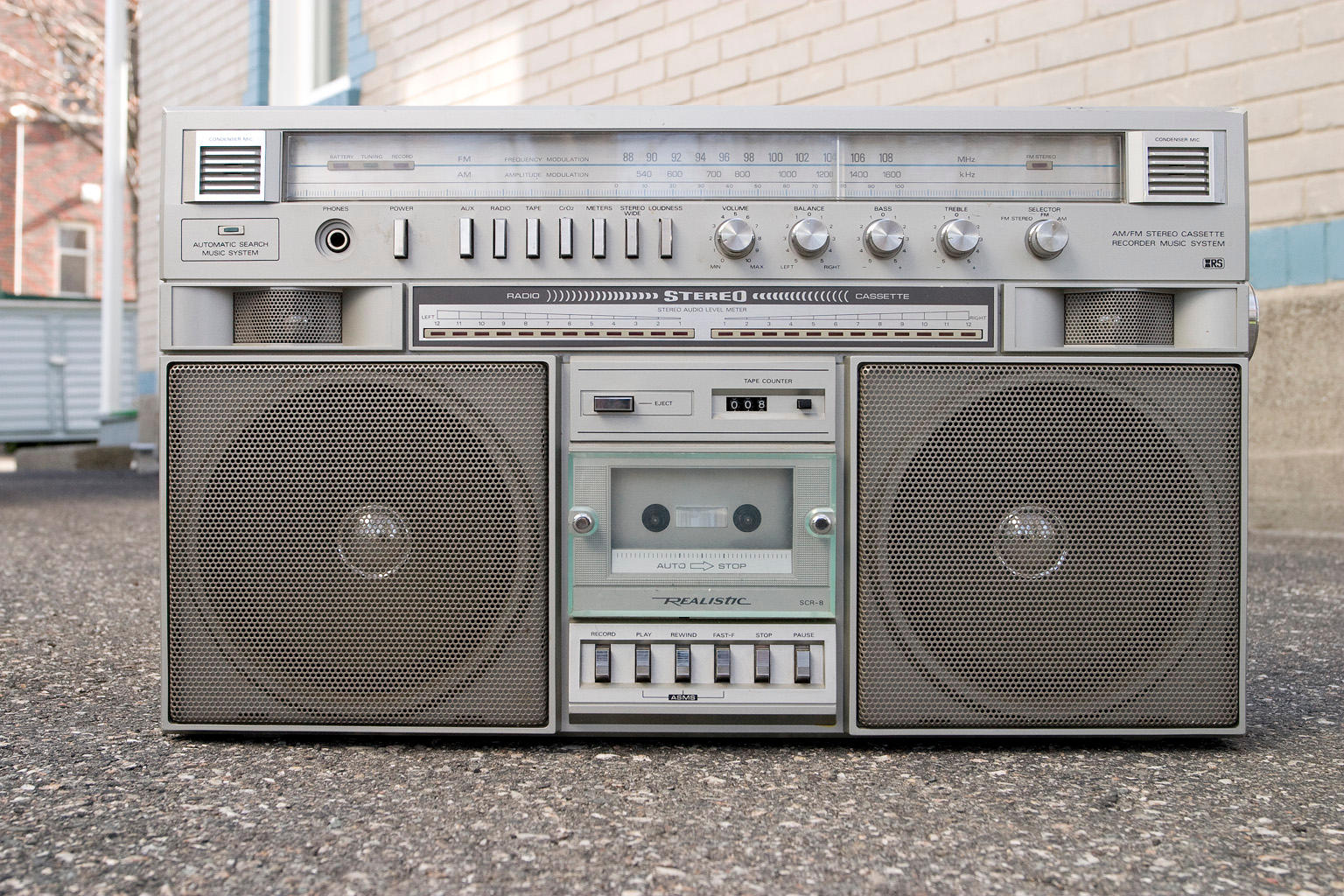 Retro boombox :STOCK: by py