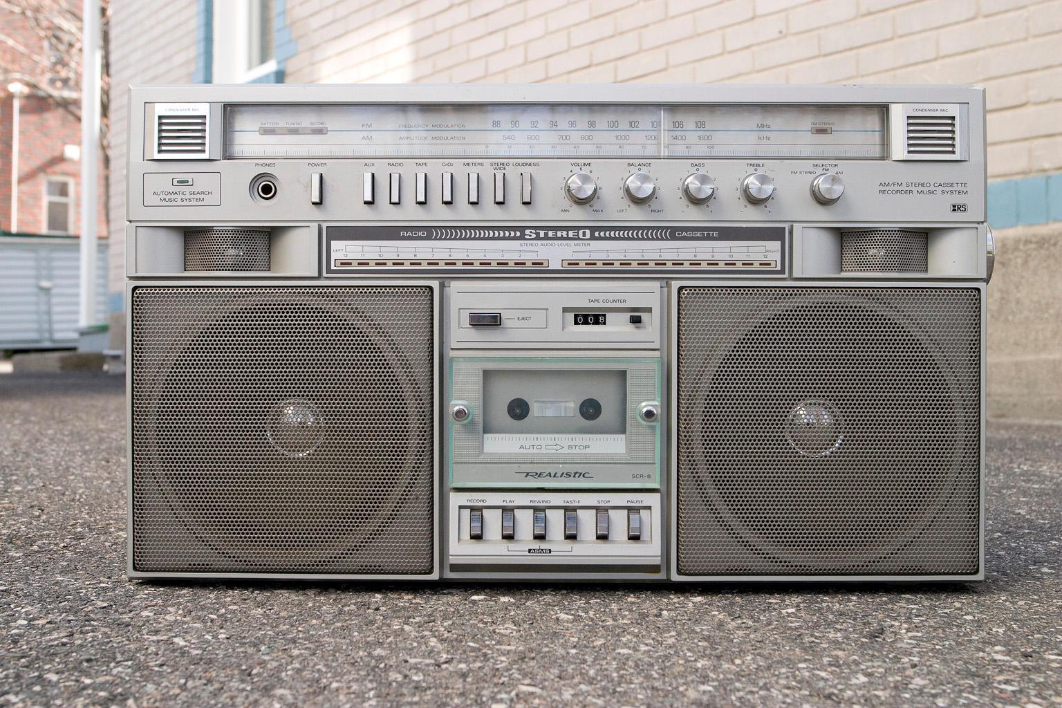 Retro boombox :STOCK: by py on DeviantArt