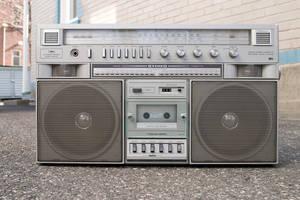 Retro boombox :STOCK: by py