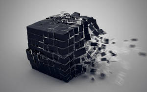 3D Cube Explosion