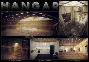 3D Hangar by Patan77xD