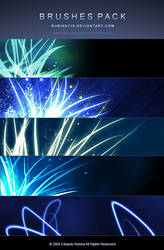 Pack of Abstract Brushes by rubina119