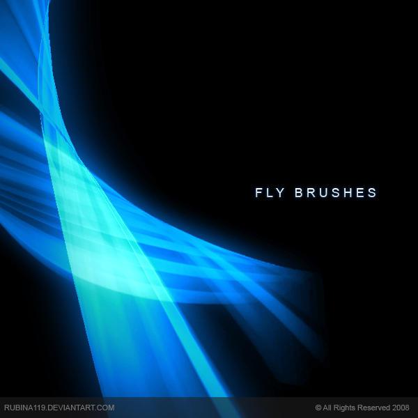 Fly Brushes by rubina119