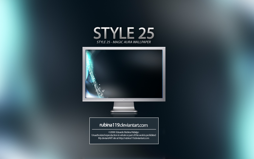 Style 25 Magic Aura Wallpapers