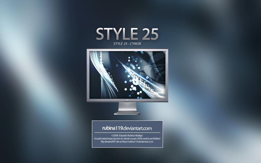 Style 25 Cynox Wallpapers by rubina119