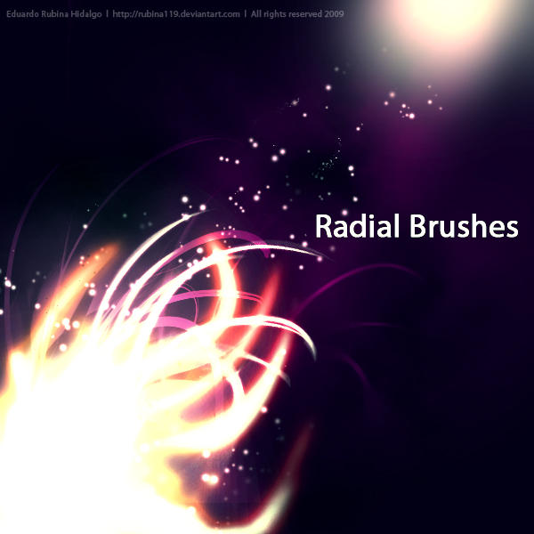 Radial Brushes by rubina119