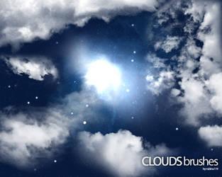 Clouds Brushes by rubina119