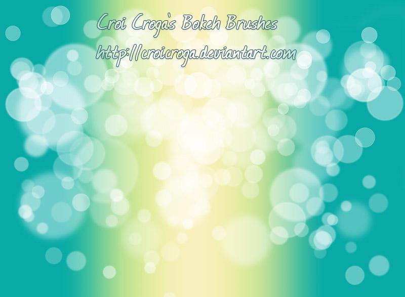 Croi's Bokeh Brushes by croicroga