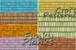 Croi's Funky Planks Pattern pack