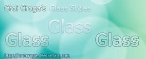 Croi's Clear Glass Photoshop Styles