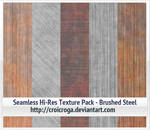 Seamless Hi-Res Texture Pack - Brushed Steel