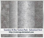Seamless Hi-Res Texture Pack - Galvanized Steel