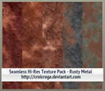 Seamless Hi-Res Texture Pack - Rusty Metal