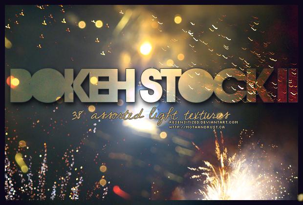 bokeh stock 002 :: fireworks by Resensitized