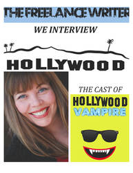 Hollywood Vampire Interview with MONICA MARTIN by TOMCAVANAUGH