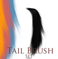 Tail Brushes by SpunkyThoroughbred