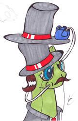 Fanciest Pony by VaguelyCreepy