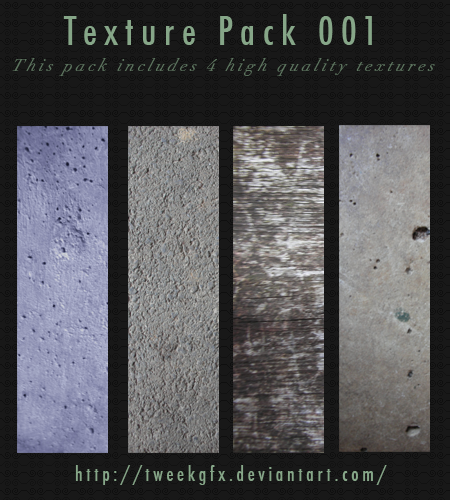 Grunge Texture Pack 001 by Tweekgfx