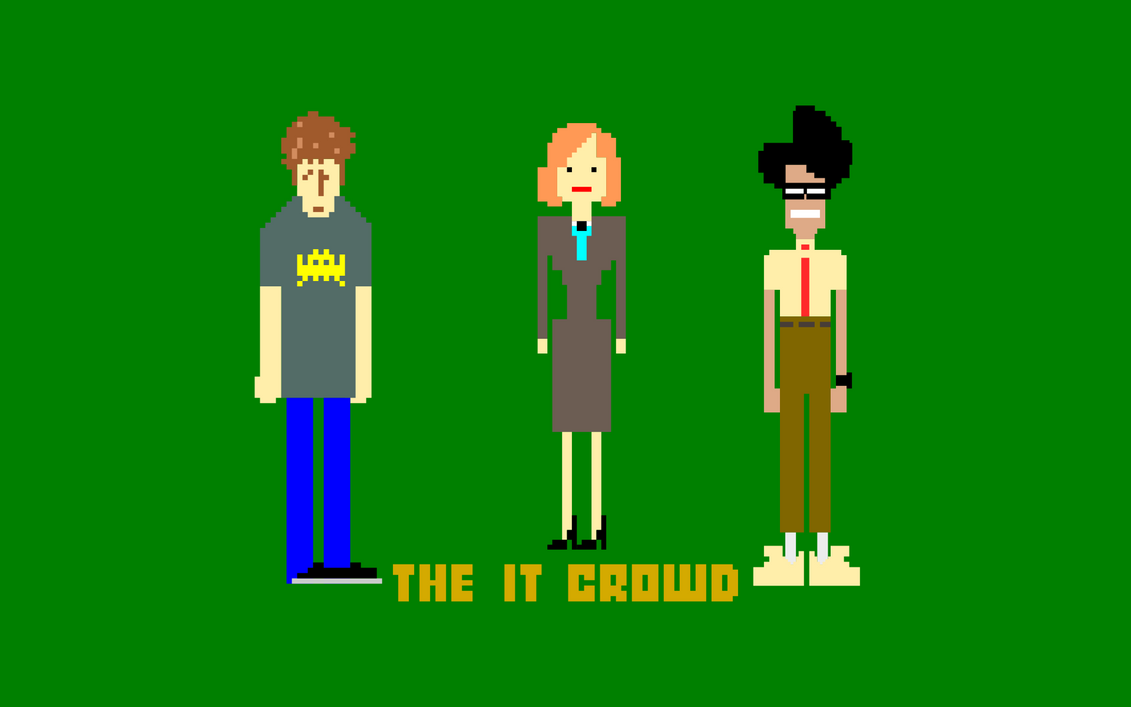 The IT Crowd by arthurreeder