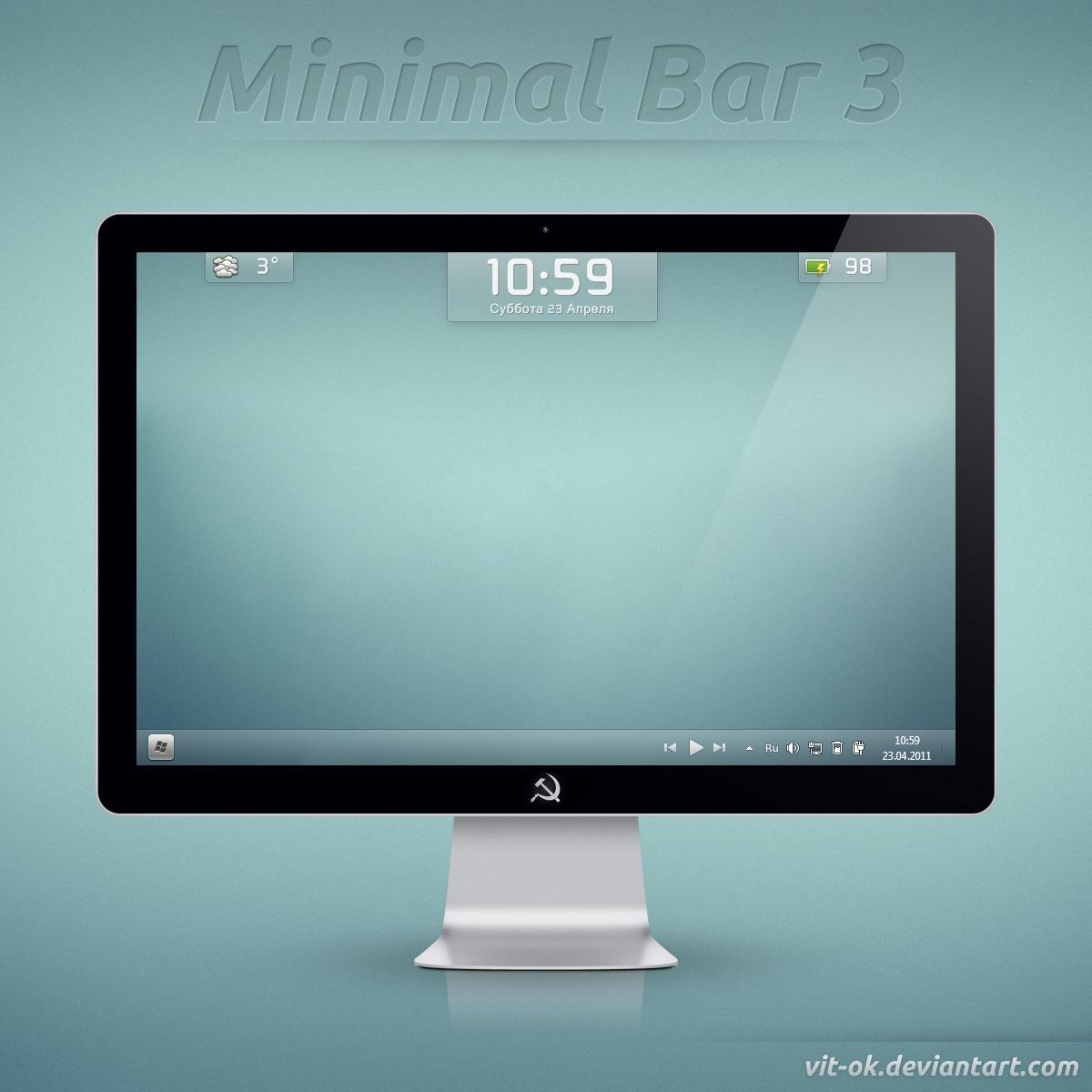 Minimal Bar 3 by Vit-Ok