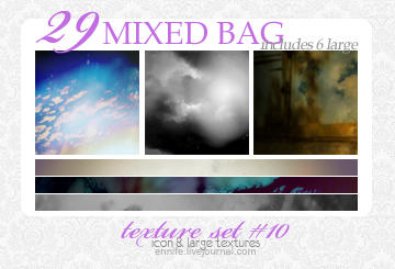 29 Mixed Bag of Textures 10 by ennife-resources