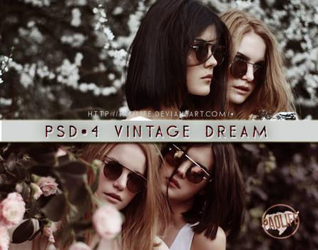 Psd #4 Vintage Dream