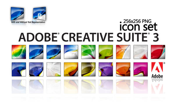 Adobe CS3 Icon Suite