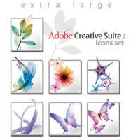 Adobe CS 2.0 Grande Icon Set by wstaylor