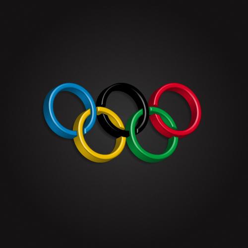 Olympic Logo 3D