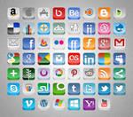 3D Social Buttons Update
