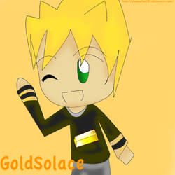 GoldSolace chibi by shadowfan785