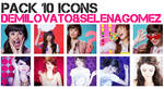 Icons Lovato.Gomez