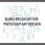 Runes Brushes for PhotoShop