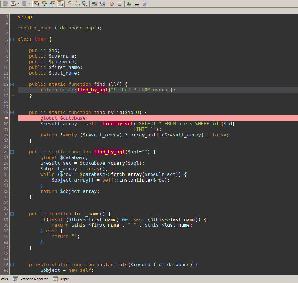 PHP Color Scheme for Netbeans by IbnSaeed
