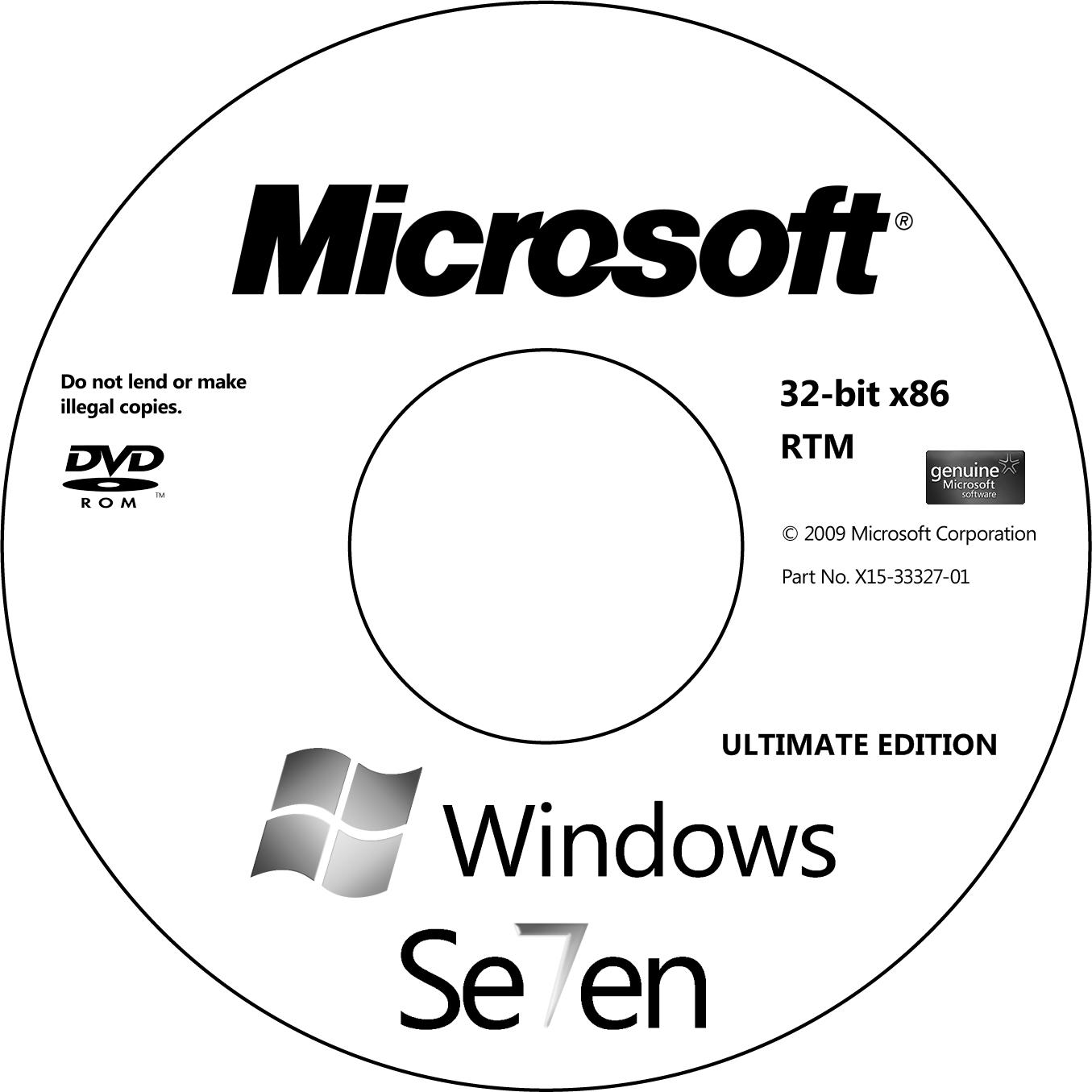 Windows 7 Ult.RTM Lightscribe by acidul