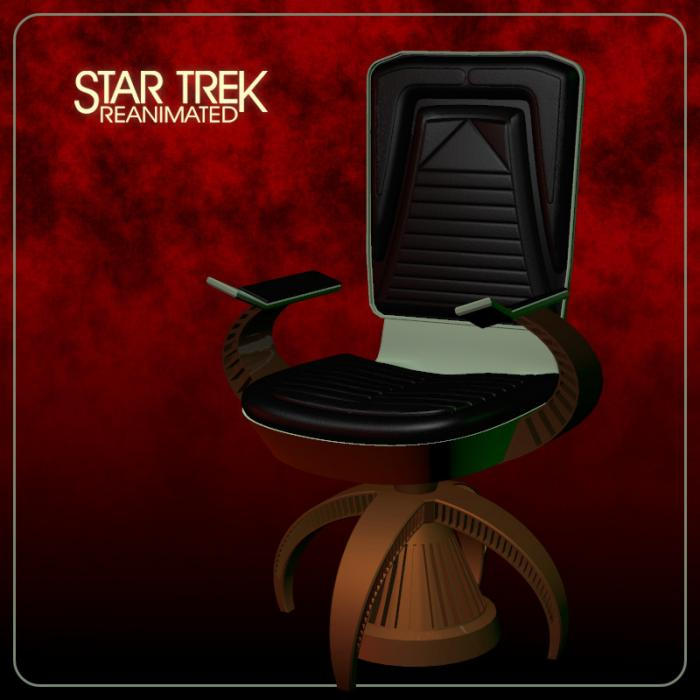 TOS Klingon Kommand Seat by Ptrope