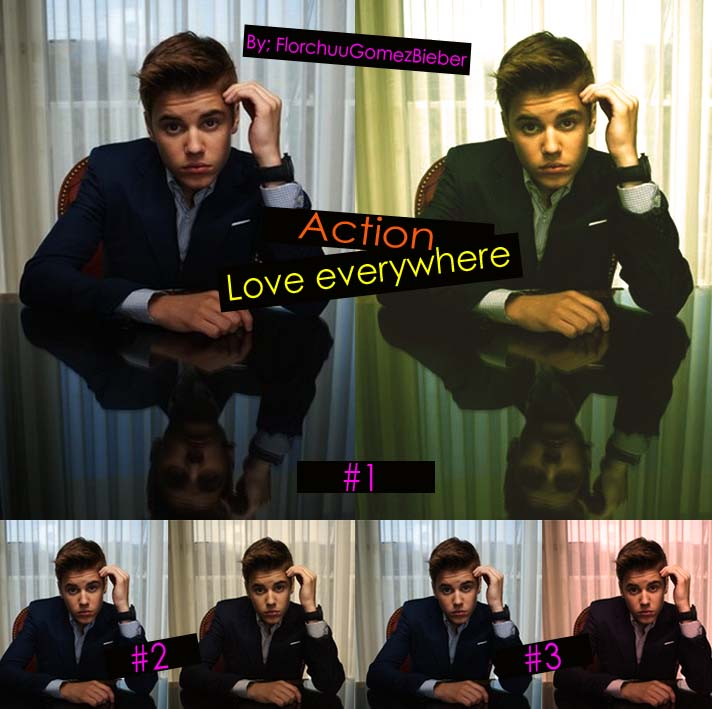 Love Everywhere -Vintage Action-