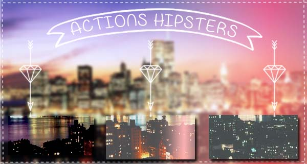 Actions Hipsters by FlorchuuGomezBieber