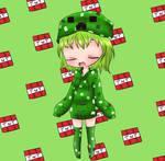 Chibi Creeper girl