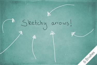 Sketchy Arrows! by byjanam