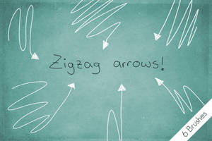 Zigzag Arrows! by byjanam