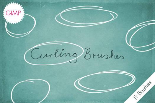 GIMP Curling Brushes