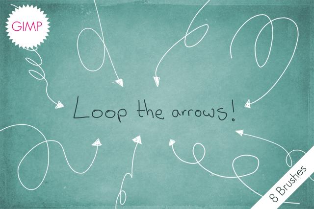 GIMP Loop The Arrows!