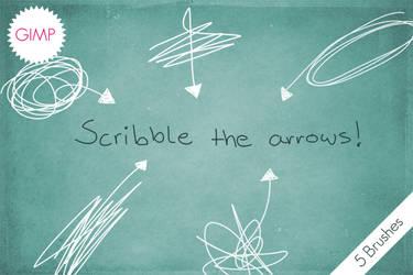 GIMP Scribble The Arrows!
