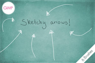 GIMP Sketchy Arrows